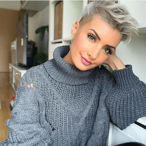 25 Impressive Pictures Of Short Undercut Hair Trendy Short Hairstyles And Haircut Ideas