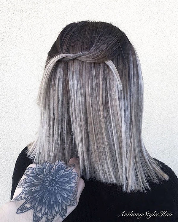 25 Amazing Ash Blonde Brown Hair Color On Short Hair Trendy Short Hairstyles And Haircut Ideas